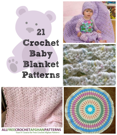 BABY BEGINNER BLANKET CROCHET FREE PATTERN | FREE PATTERNS