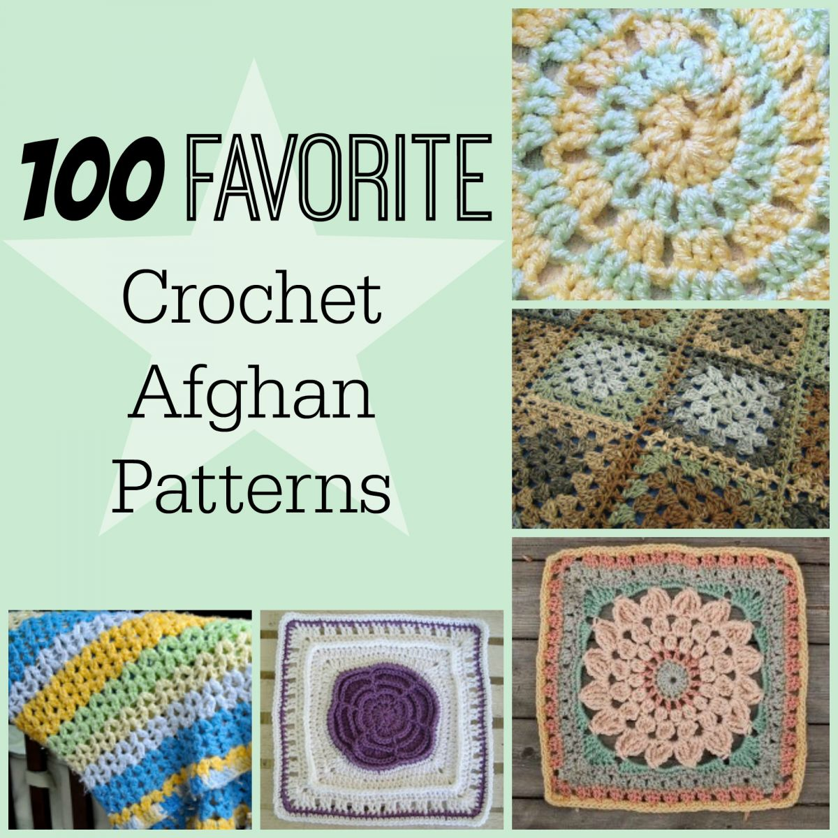 100 Favorite Crochet Afghan Patterns