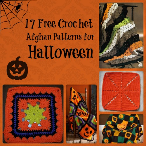 17 Free Crochet Afghan Patterns for Halloween
