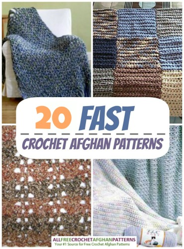 21 Fast Crochet Afghan Patterns ...