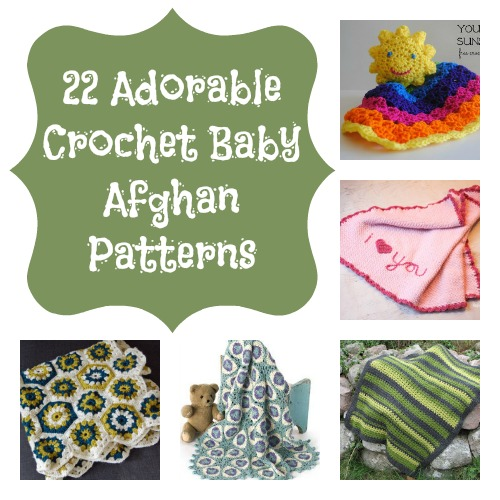 22 Adorable Crochet Baby Afghan Patterns