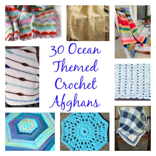 30 Ocean Themed Crochet Afghans