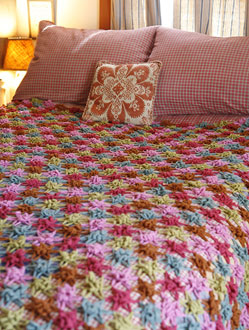 Free Crochet Afghan Patterns in a Variety of Styles