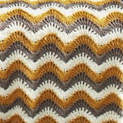 Crochet Stitches Dcfp : Touch of Honey Ripple Crochet Pattern AllFreeCrochetAfghanPatterns ...