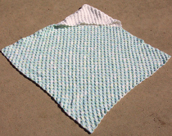 Free Crochet Patterns For Baby Blanket With Hood : Hooded Baby Blanket AllFreeCrochetAfghanPatterns.com