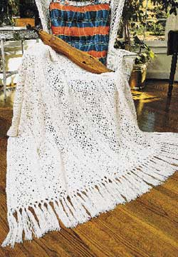 Free Crochet Pattern Irish Lace Scarf | Free Crochet Patterns