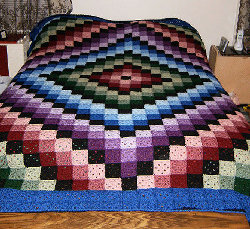 Tumbling Blocks Crochet Afghan Pattern Free : TUMBLING BLOCK CROCHET PATTERN ? Easy Crochet Patterns