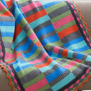 Bars and Stripes Free Crochet Pattern