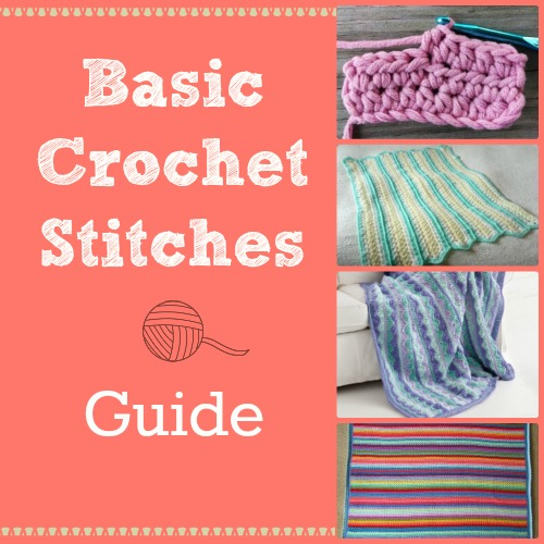Crochet Stitch Guide : Basic Crochet Stitches Guide