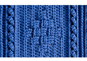Blueberry Mornings Basket Weave Crochet Afghan & Pillow ...