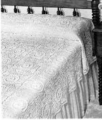 Cinderella Bedspread » Free Crochet Patterns at CrochetNow.com