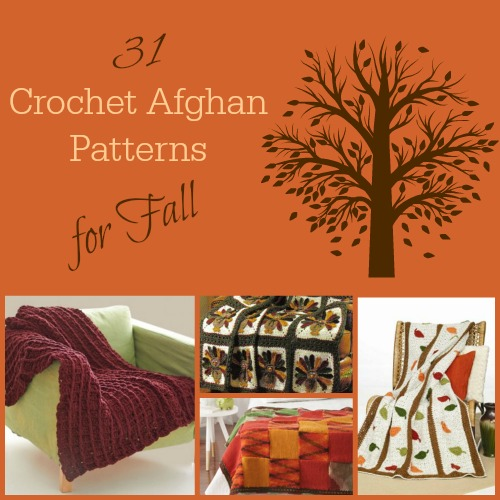 31 Crochet Afghan Patterns for Fall