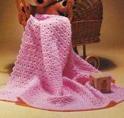 BABY BLANKET TO CROCHET FREE PATTERN | FREE PATTERNS