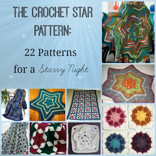 4 Point Crochet Star Pattern Allfreecrochetafghanpatterns