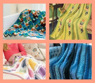 26 Tunisian Stitch Crochet Afghan Patterns