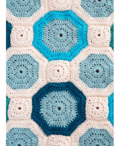 Turquoise Mosaic Crochet Pattern ...