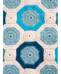Mosaic Crochet Afghan Pattern : Turquoise Mosaic Crochet Pattern ...