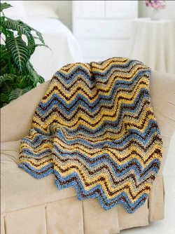 Download your copy of How To Crochet a Ripple Crochet Afghan: 7 Free Crochet Patterns today.