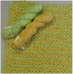 Cotton Chenille Crochet Baby Blanket Free Crochet Pattern