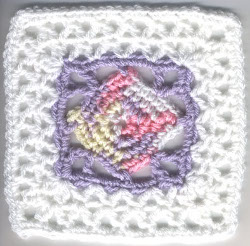 Crochet Patterns, Diamond-Shaped Granny Square