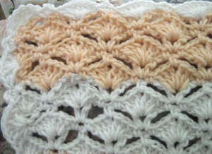 Crochet Patterns Using Peaches And Cream Yarn : Peaches and Cream Afghan AllFreeCrochetAfghanPatterns.com