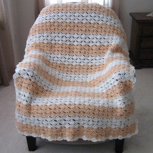 Peaches & Cream Afghan