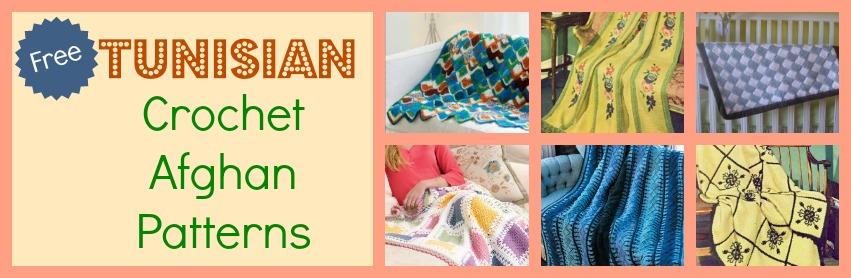 Free Crochet Pattern Tunisian Throw Pakbit For