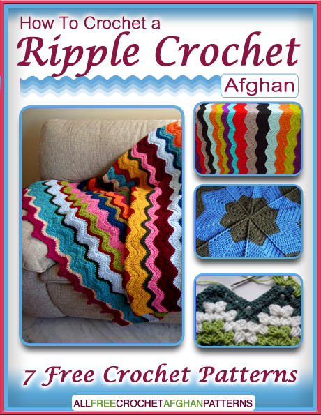Crochet Stitches Book Free Download : ... Crochet a Ripple Crochet Afghan: 7 Free Crochet Patterns eBook today