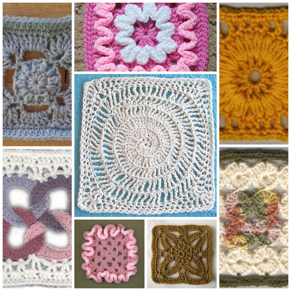 Modern Crochet Patterns : MODERN GRANNY CROCHET AFGHAN PATTERN Easy Crochet Patterns