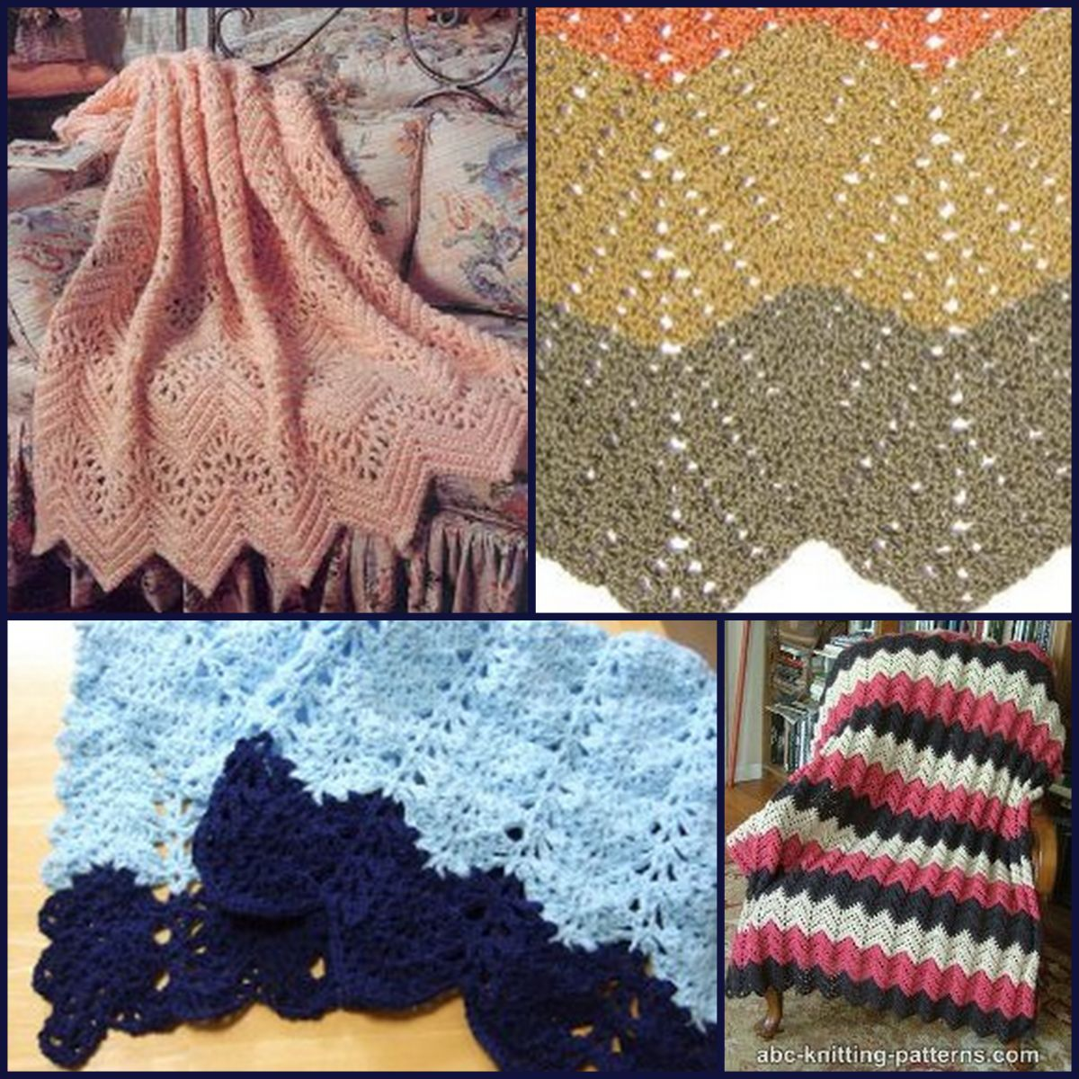 All Free Crochet Afghan Patterns : 20 Lace Crochet Designs for Afghans ...