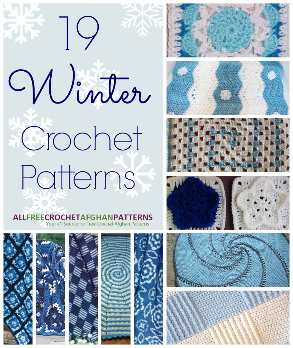 19 Winter Crochet Patterns